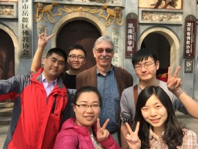 PHOTO: Dr. Greg Mueller and Chinese collaborators.