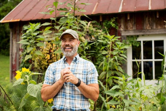 PHOTO: Jeff Ross at Blackberry Farm.