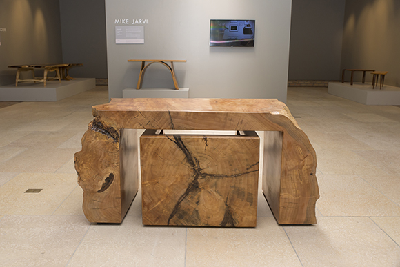 Willow desk and chair by Mike Jarvi.