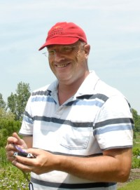 PHOTO: Richard Hawke, Plant Evaluation Manager.