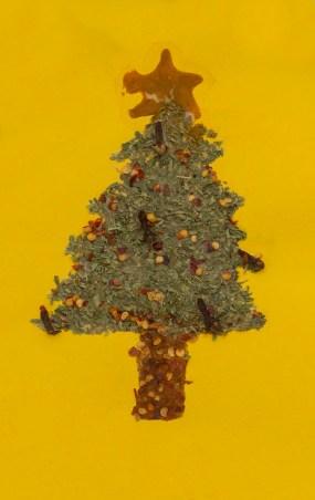 PHOTO: Spice holiday card: Christmas tree.