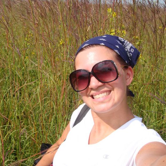 Lauren Umek studies how invasive species change plant communities and soil properties in the Chicago region and how this can improve restoration methods.