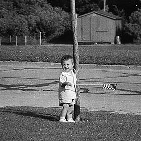 PHOTO: Kris Jarantoski, age 3.
