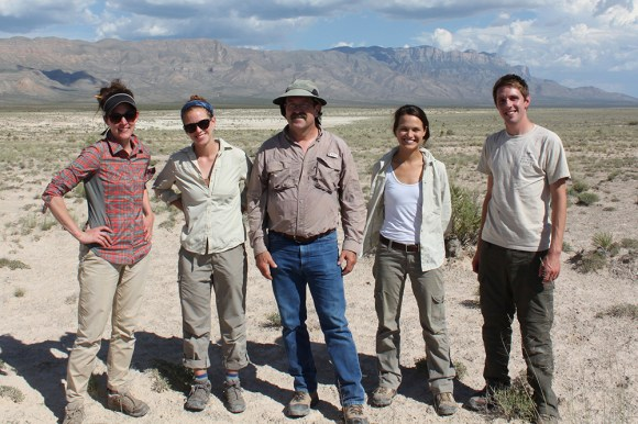 PHOTO: The New Mexico research team.
