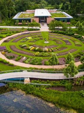 The Daniel F. and Ada L. Rice Plant Conservation Science Center Rooftop Garden