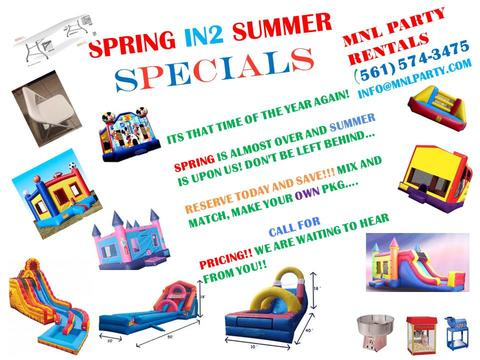 MNL PARTY RENTALS Coupons in West Palm Beach Party Equipment