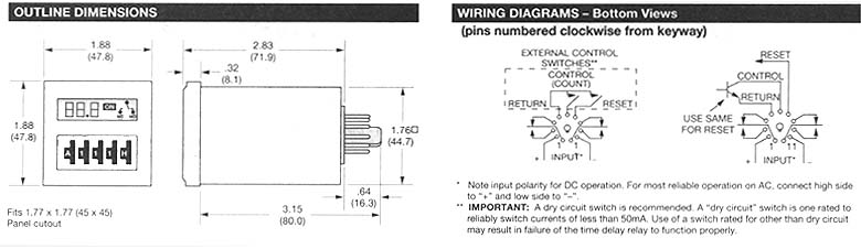 Potter Brumfield Relay Wiring Diagrams