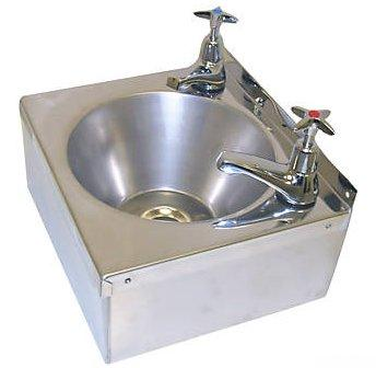 Stainless Steel Hand Wash Basin Sink Taps Uk Trap