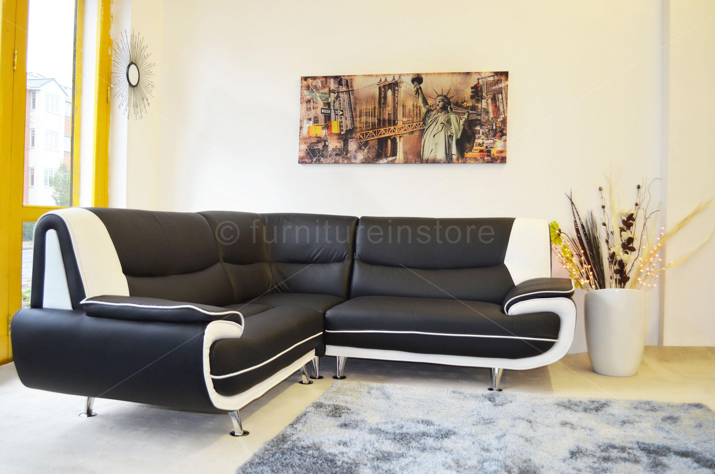 Sofa On Sale Ebay Details About Faux Leather Corner Sofa Sofa Passero Corner Sofas Setttee On Sale In The Uk