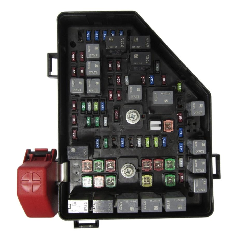 chevrolet spark fuse box location