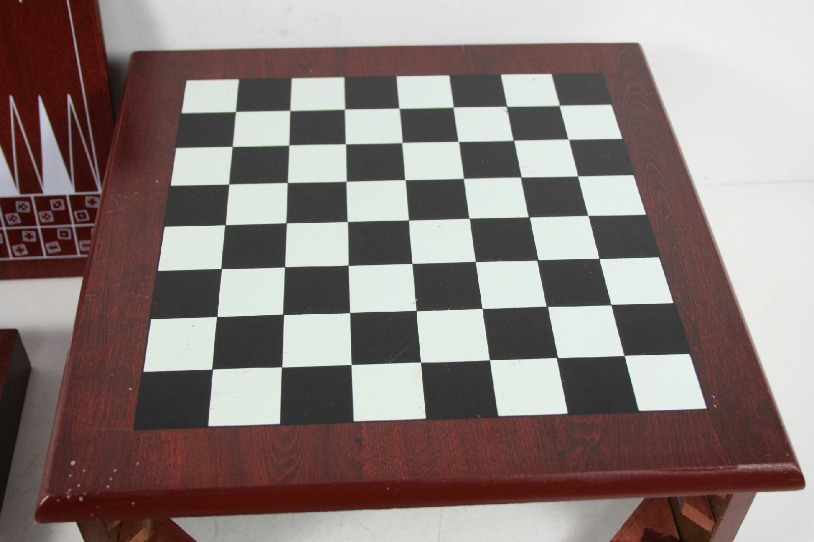 Chest Game Set Sin In One Rose Wood Box Board Game Chest Drawer Chess