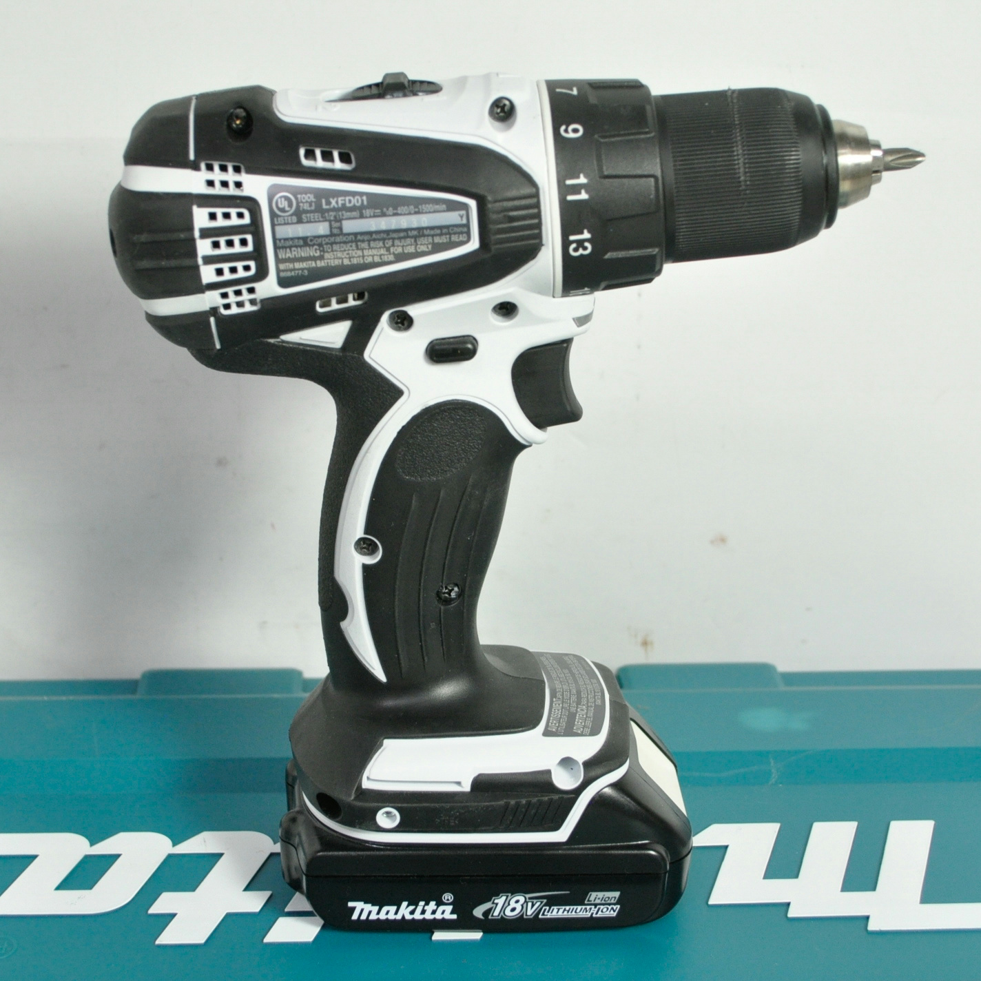 Makita Accuboor Set Makita Lxfd01 18v Li Ion 1 2 Inch Cordless Reversible