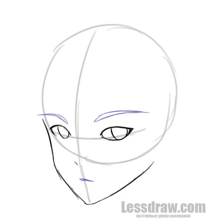 How To Draw Anime Boy Step By Step For Beginners Lessdraw