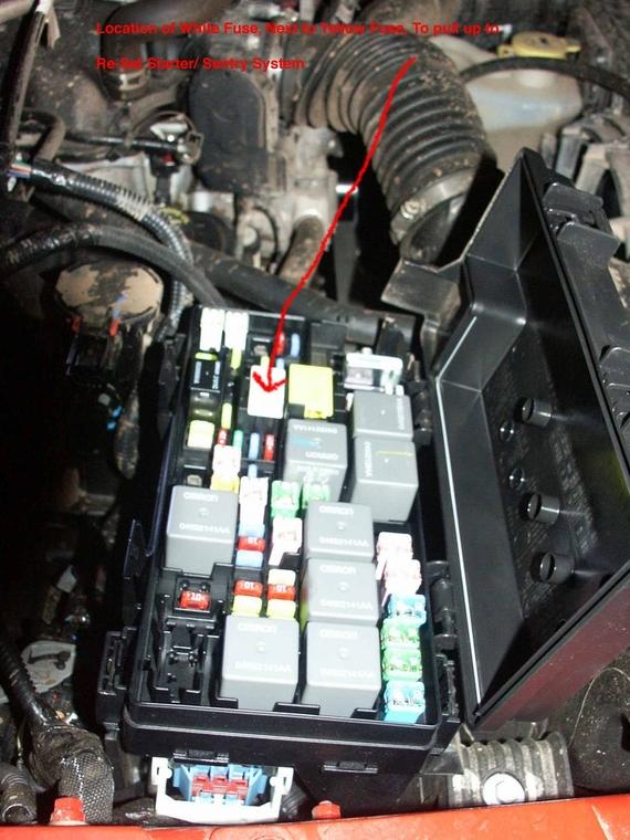 2007 Jeep Wrangler Fuse Box Wiring Diagram