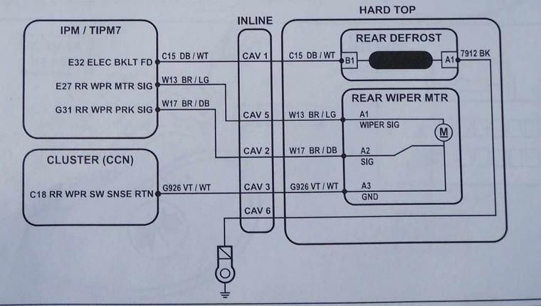 2004 jeep tj hardtop wiring