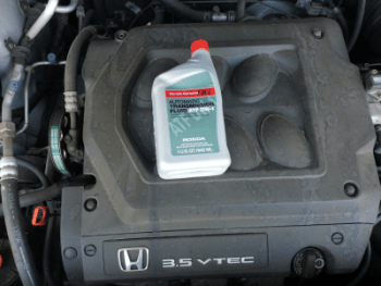 How to change your auto transmission fluid for Honda odyssey transmission fluid change