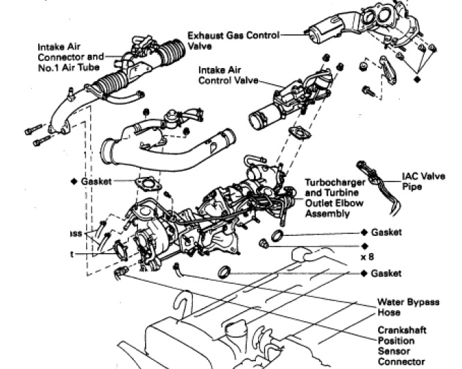 2jz engine diagram