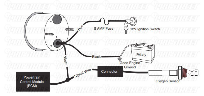 autometer air fuel wiring diagram