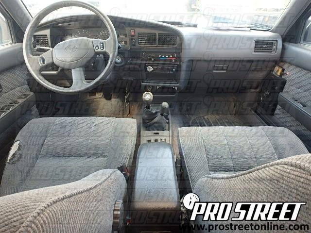 Toyota 4Runner Stereo Wiring Diagram - My Pro Street