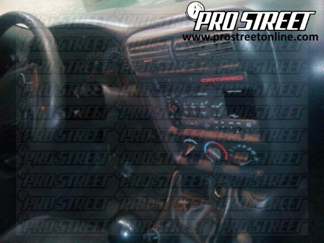 Chevy Camaro Stereo Wiring Diagram - My Pro Street