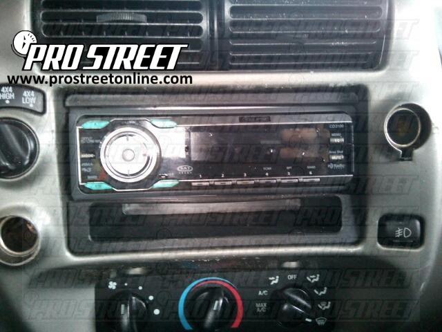 1997 Ford Ranger Radio Wiring Wiring Schematic Diagram