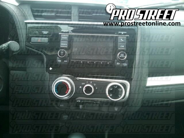 Honda Fit Stereo Wiring Diagram - My Pro Street