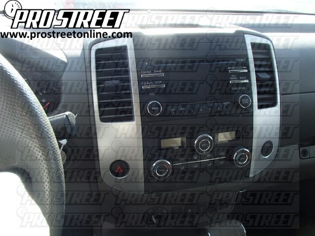 How To Nissan Frontier Stereo Wiring Diagram - My Pro Street