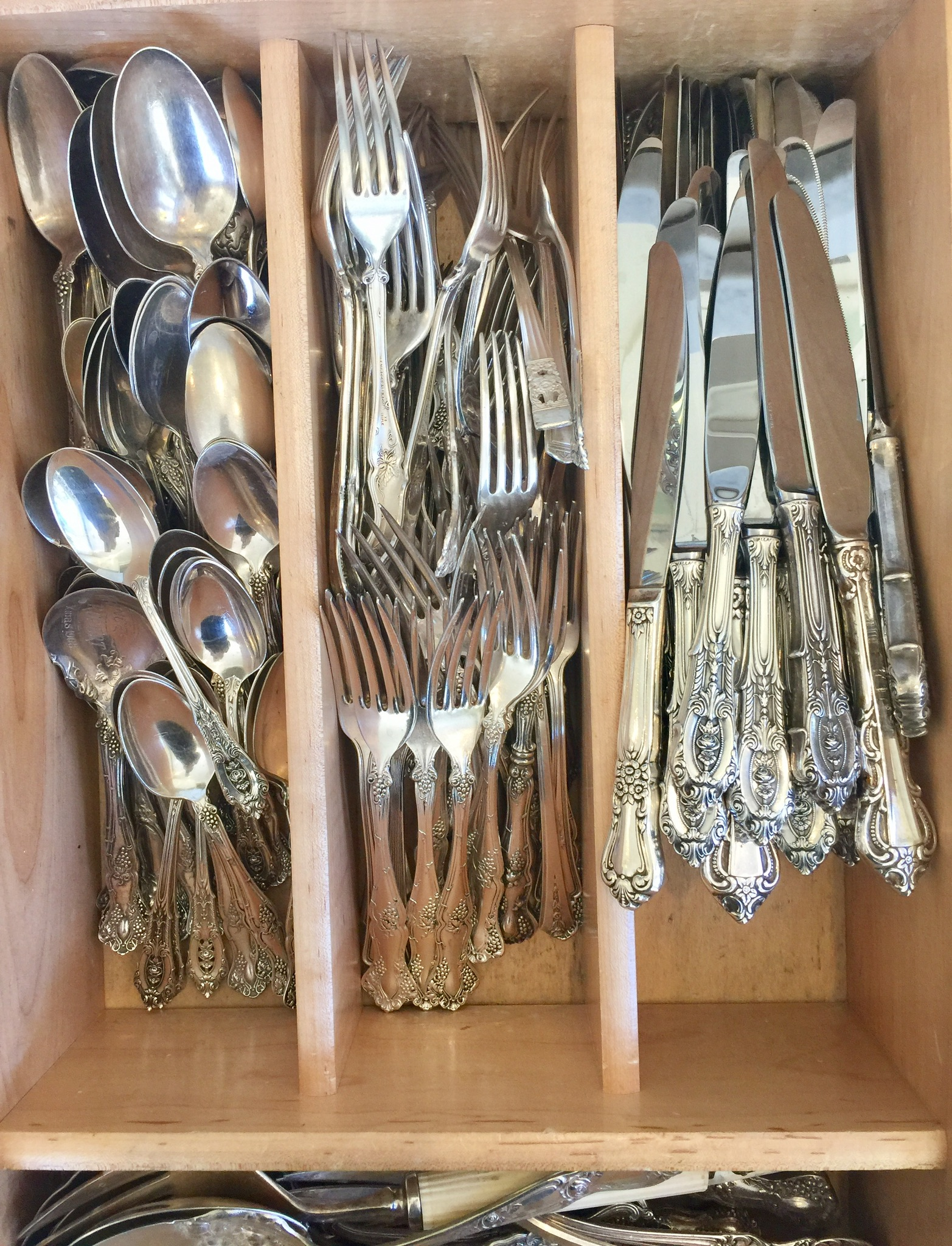 Used Flatware For Sale Using Sterling Silver Flatware