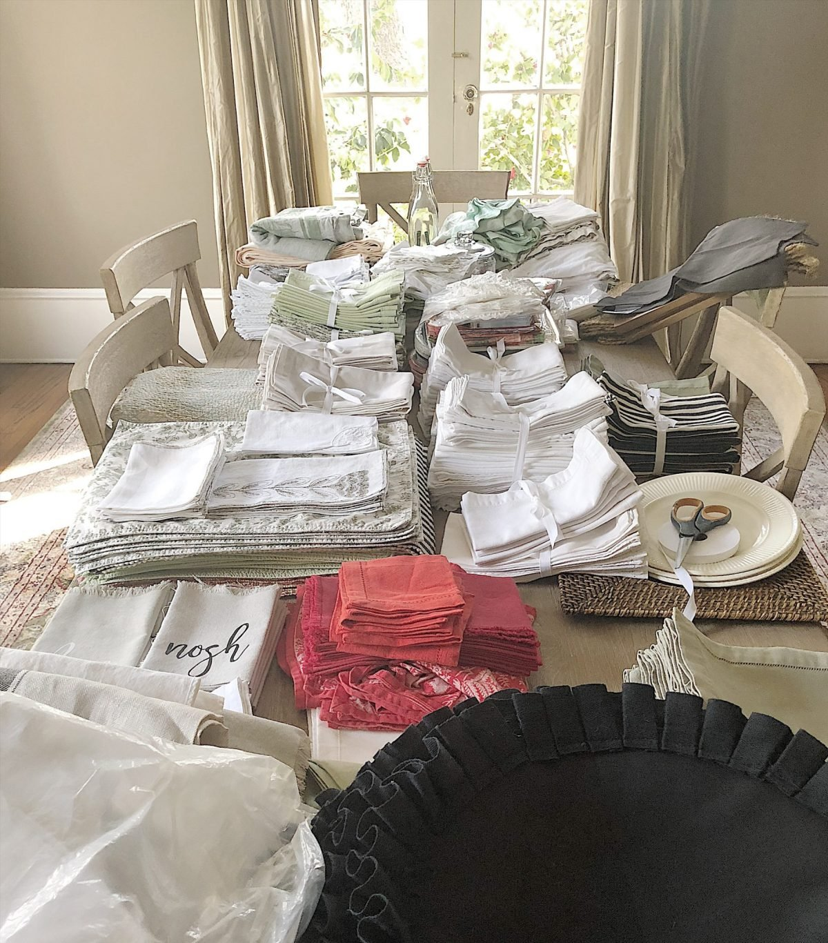 Christmas Tablecloths Australia Organizing My Linens