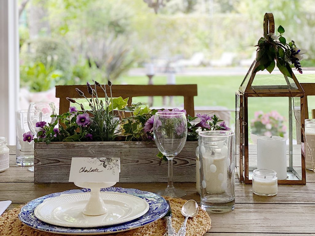 My Favorite Table Centerpiece Ideas For Outside Dining My 100 Year Old Home