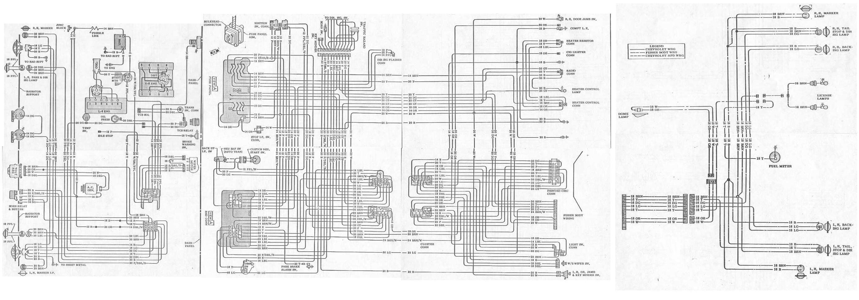 1977 firebird wiring diagram