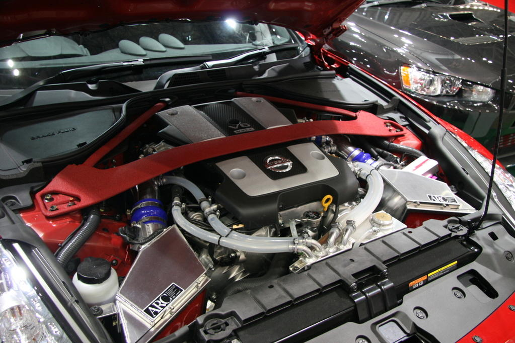 Arc Intake Box And Exhaust My350zcom Nissan 350z And