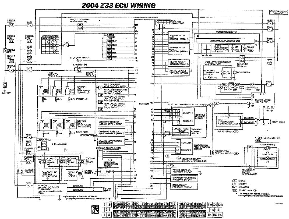 Wiring Diagram For Nissan 350z Wiring Diagram