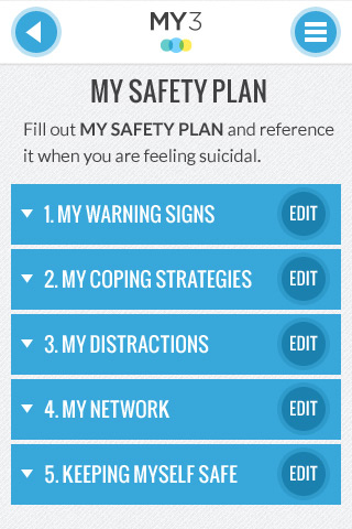 Learn more about safety planning - Suicide Prevention App for