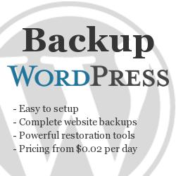 myRepono - WordPress, Website & mySQL Database Backup Service