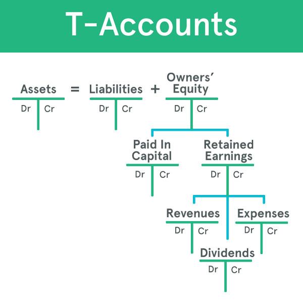 accounting t charts