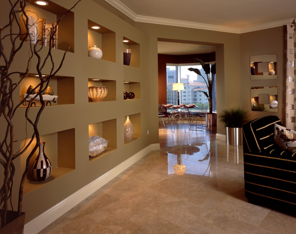 Foto Gypsum 15+ Ways To Beautify Your Home With Illuminated Wall