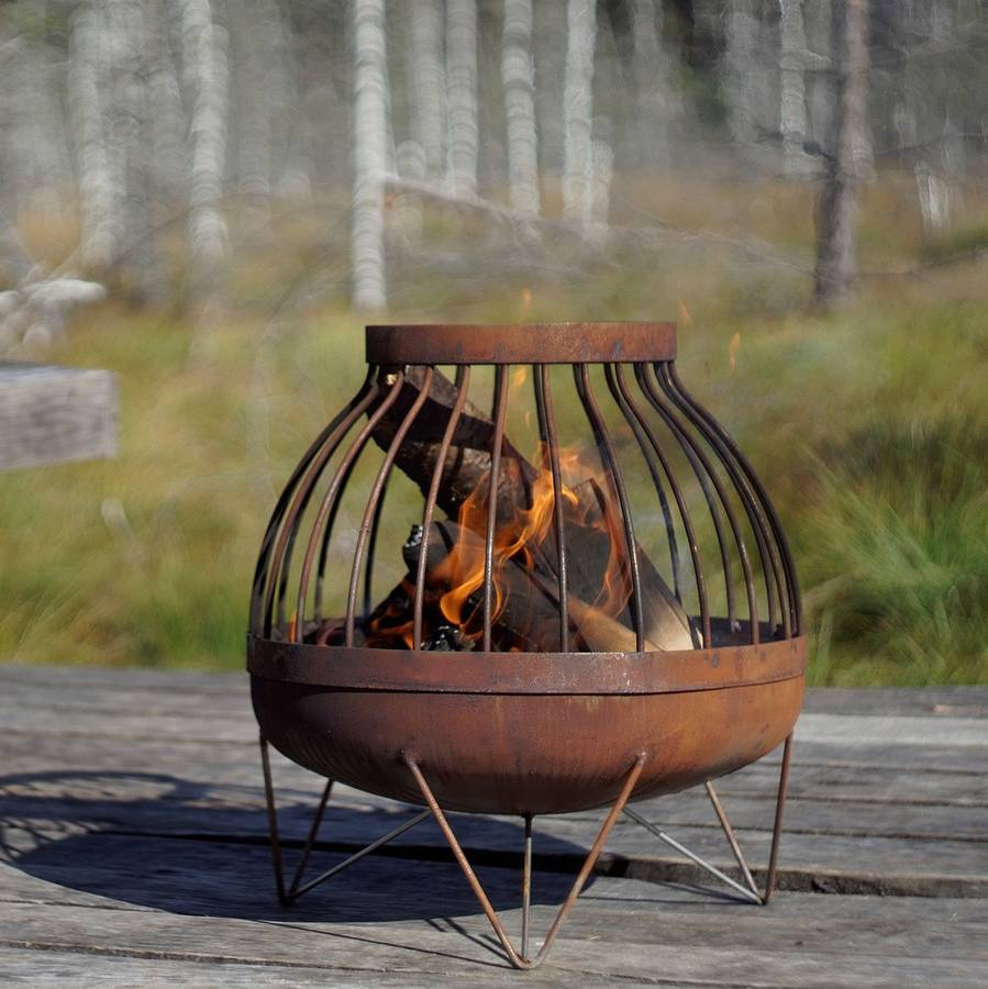 Brasero Exterieur 10 Unique Fire Pits That Will Make You Say Wow
