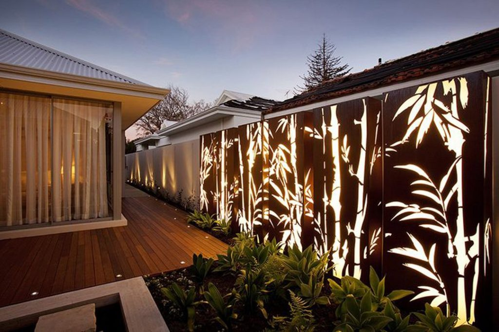 My Deck Marvelous Fence Lighting Ideas That Will Make You Say Wow
