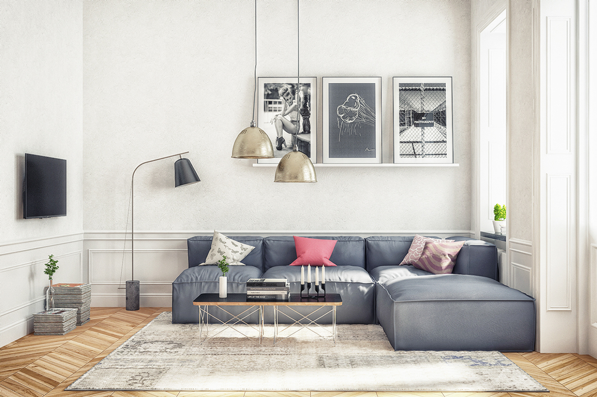 Pink And Grey Living Rooms Grey And Pink Is A Perfect Combo For Living Room Design