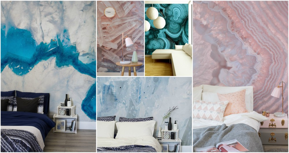 Never Fall In Love Wallpaper Geode Wall Is Something That You Will Fall In Love With