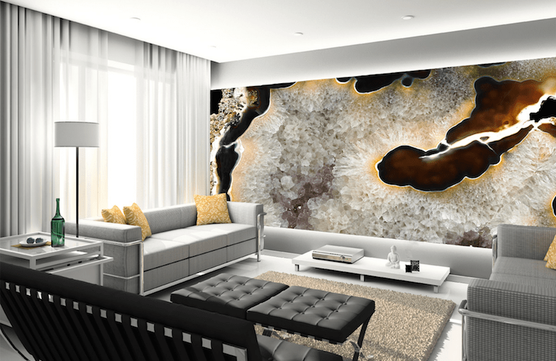 Fall Vibes Wallpaper Geode Wall Is Something That You Will Fall In Love With