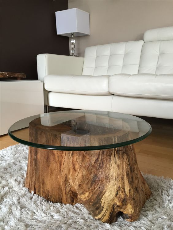 Couchtisch Holz Baumstamm Raw Wood Furniture Stands For Rustic And Natural - Page 2 Of 2