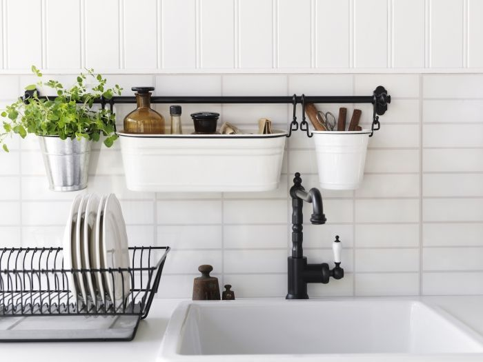Vertical Kitchen Storage Ideas To Use The Small Space In The Right - kitchen storage ideas for small spaces