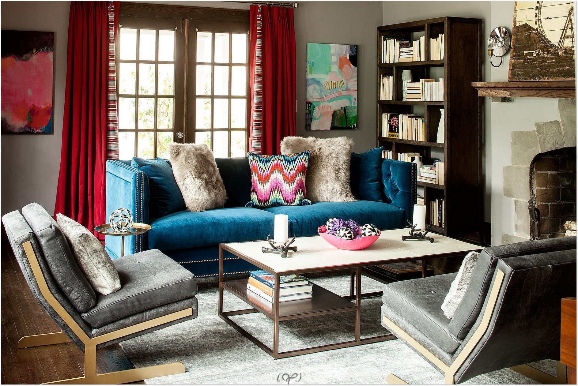 Blue Velvet Couch Blue Velvet Sofa Ideas For Creating A Royal Living Room