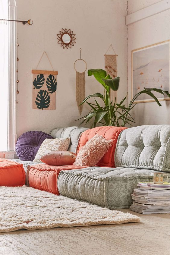 Cozy Floor Seating Ideas That Are So Comfortable And Easy
