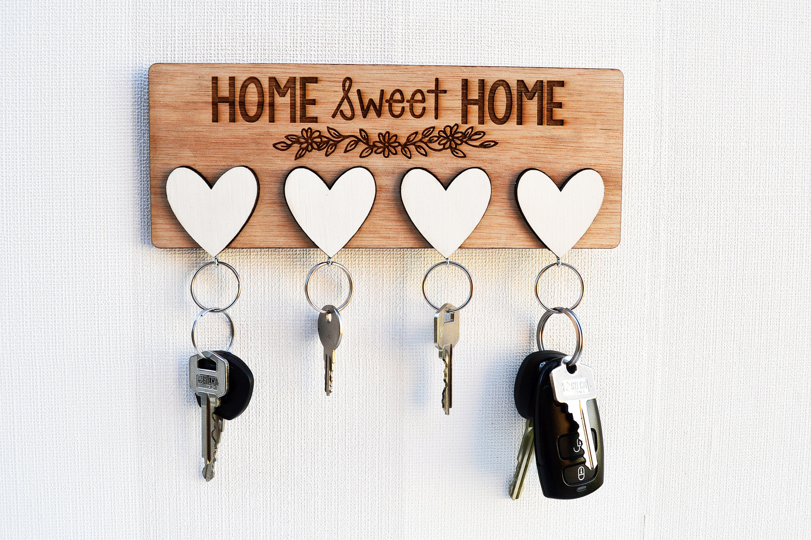 Home Key Holder For Wall Diy Key Holder For Wall Home Design