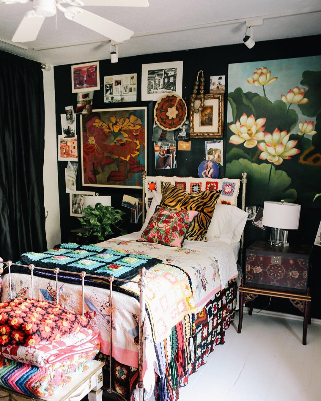 Hippie Boho Style Maximalist Interior Design:how To Do It In The Right Way?