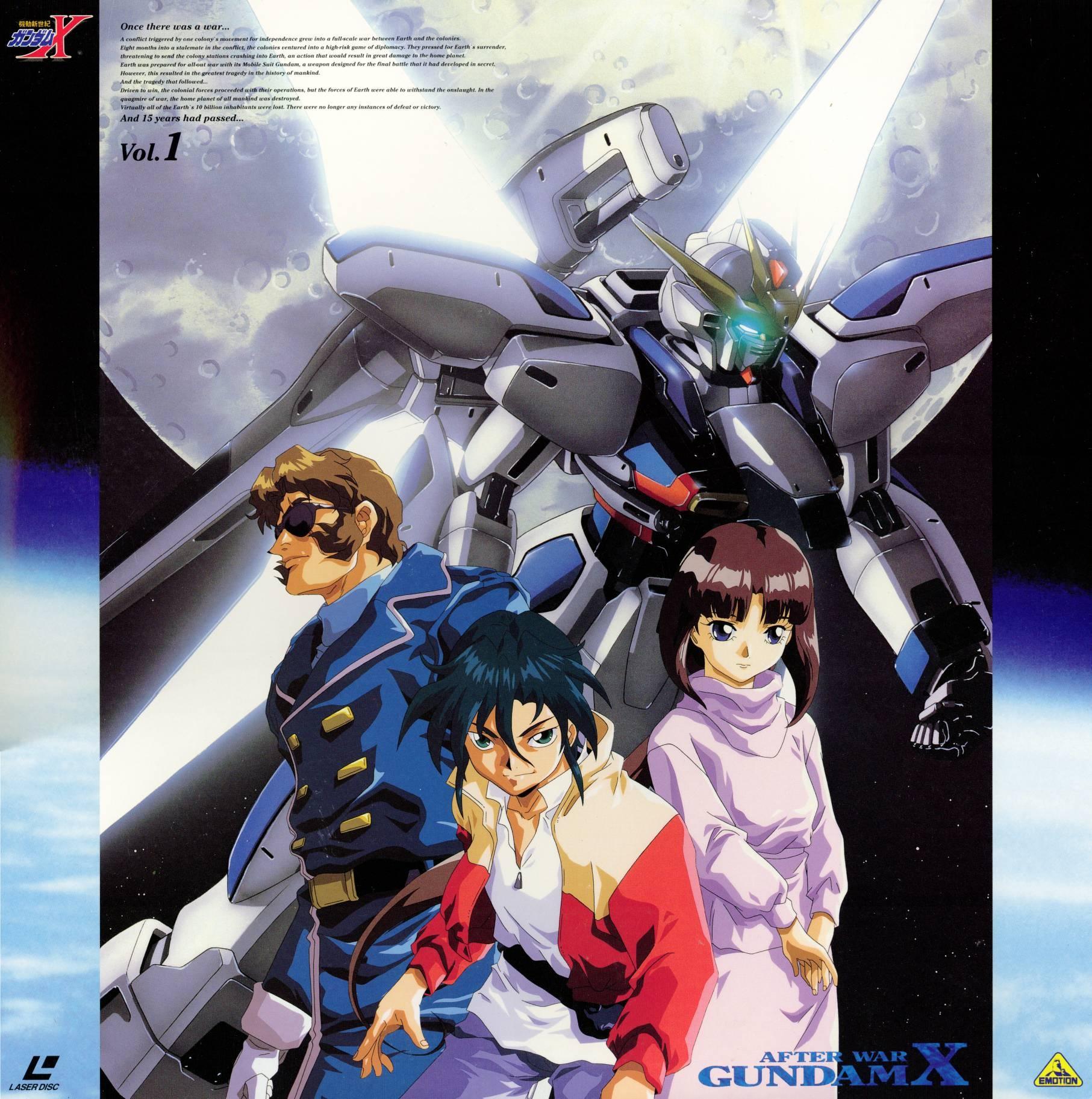 Gundam Girl Wallpaper After War Gundam X My Anime Shelf