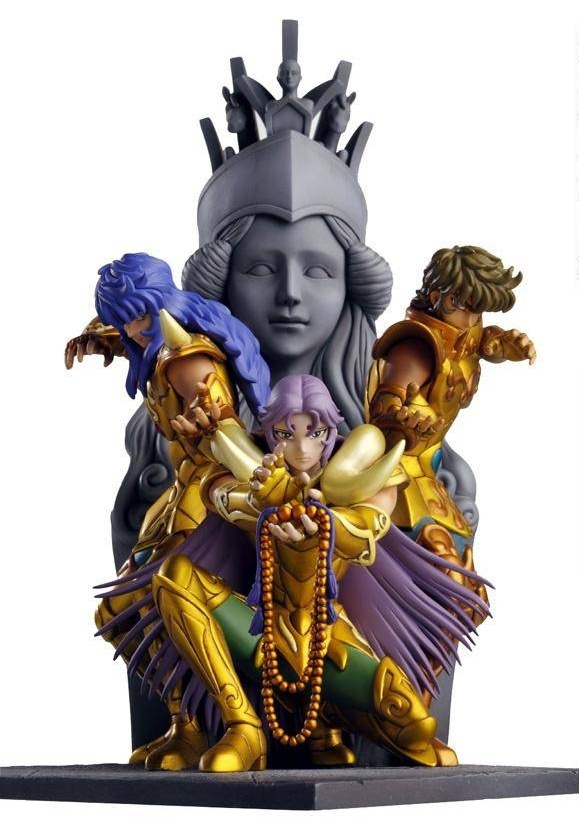 What Is Resin Material Saint Seiya Athena Exclamation Diorama Figure Gold Saints